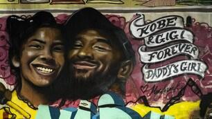 Kobe Bryant, Los Angeles lo omaggia con un murales