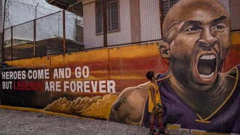 Kobe Bryant, Rieti gli intitolerà una via: