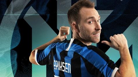 """Inter, Eriksen ha scelto la 24: """"Non vedevo l'ora di arrivare"""""""