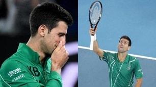 Djokovic, lacrime e felpa ricordo per Bryant agli Australian Open