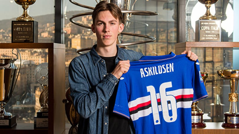 Sampdoria, ufficiale Askildsen: contratto fino al 2024