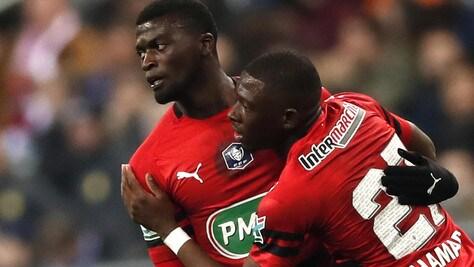 Coppa di Francia: doppietta Niang, Montpellier eliminato da club di quarta serie
