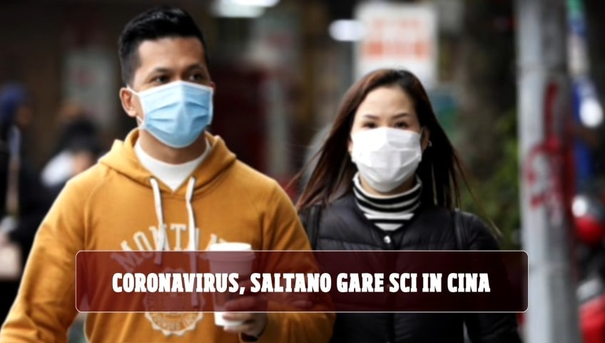 Coronavirus, cancellate gare Coppa del mondo di sci in Cina