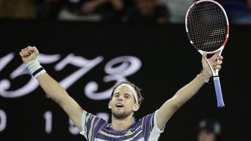 Australian Open, Nadal eliminato: vince Thiem in quattro set