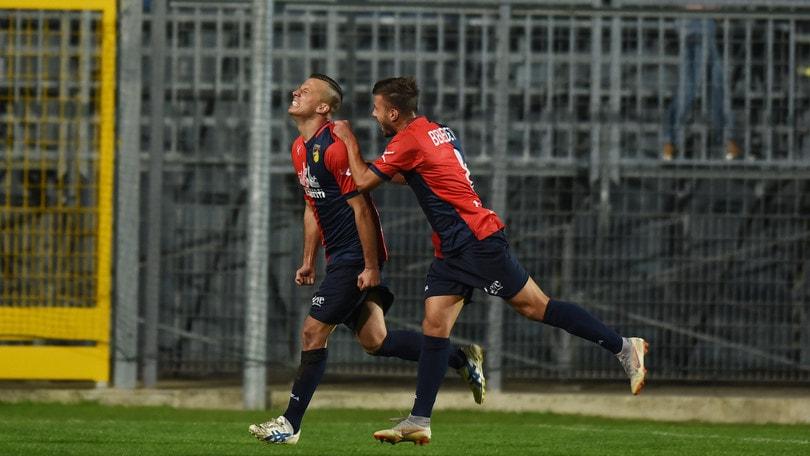 Il Gubbio mantiene lo 0-1 nel recupero contro la Virtus Verona