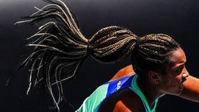 Robin Montgomery, i suoi capelli sono un tormentone agli Australian Open