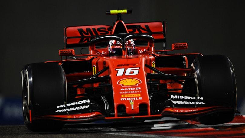 Ferrari, Leclerc gira a Jerez con le gomme 2021