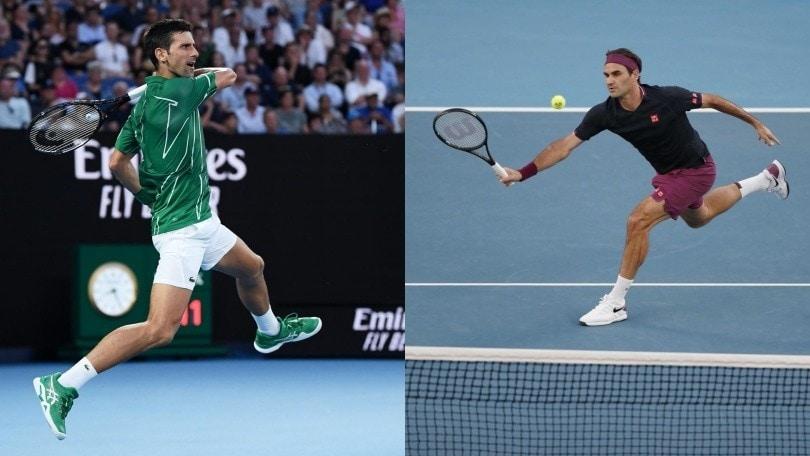 Australian Open, in campo Federer contro Djokovic: segui la diretta