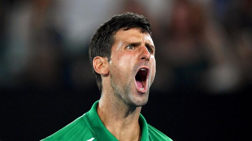 Australian Open, Djokovic in finale: battuto Federer in 3 set