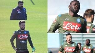 Napoli, Gattuso sorride: ci sono Koulibaly, Mertens e Maksimovic
