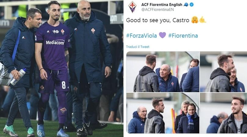 Fiorentina, Castrovilli torna a sorridere con Commisso