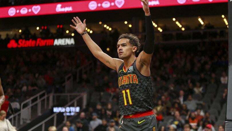 Nba: Young trascina Atlanta contro Philadelphia, inatteso ko dei Clippers