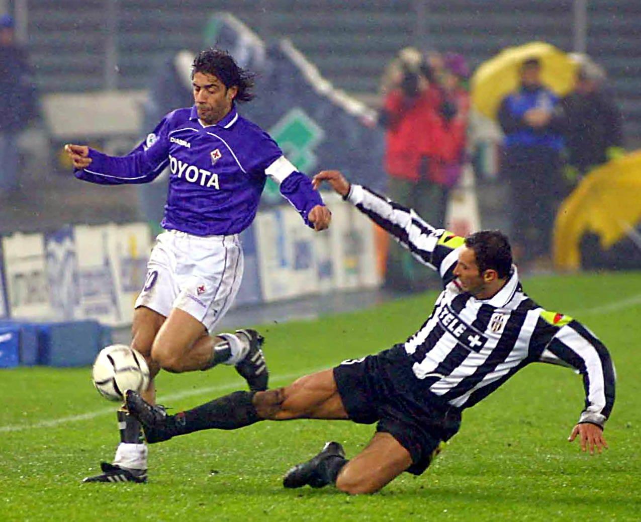 Juve-Fiorentina: le immagini più belle delle partite giocate a Torino