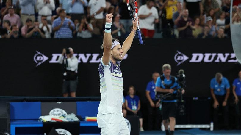 Australian Open, Thiem batte Zverev: è in finale contro Djokovic