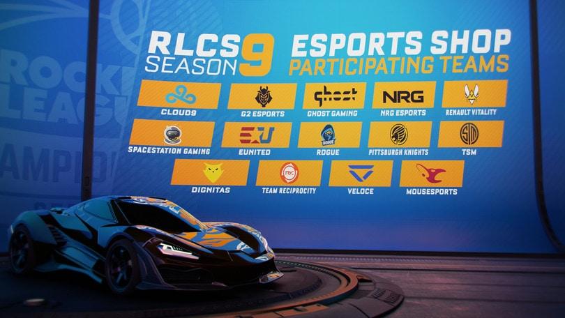 Update per Esports Shop e Fan Rewards in arrivo