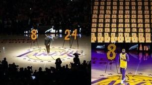 Morte Kobe Bryant, commozione e lacrime allo Staples per l'ultimo saluto