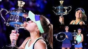 Sofia Kenin batte Garbine Muguruza e vince l'Australian Open