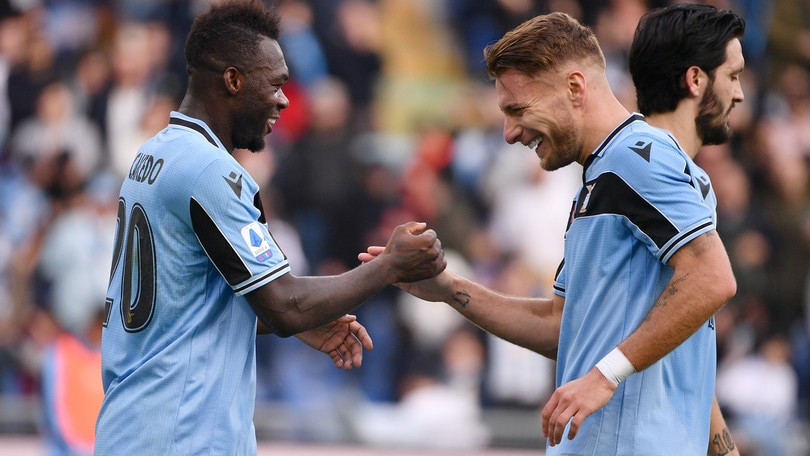 Lazio-Inter, Immobile e Caicedo pronti: sono la coppia gol migliore in Europa