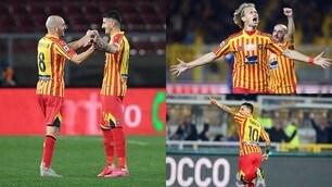 Lecce, show di Saponara e Barak. Che gol di Falco! Torino ko 4-0