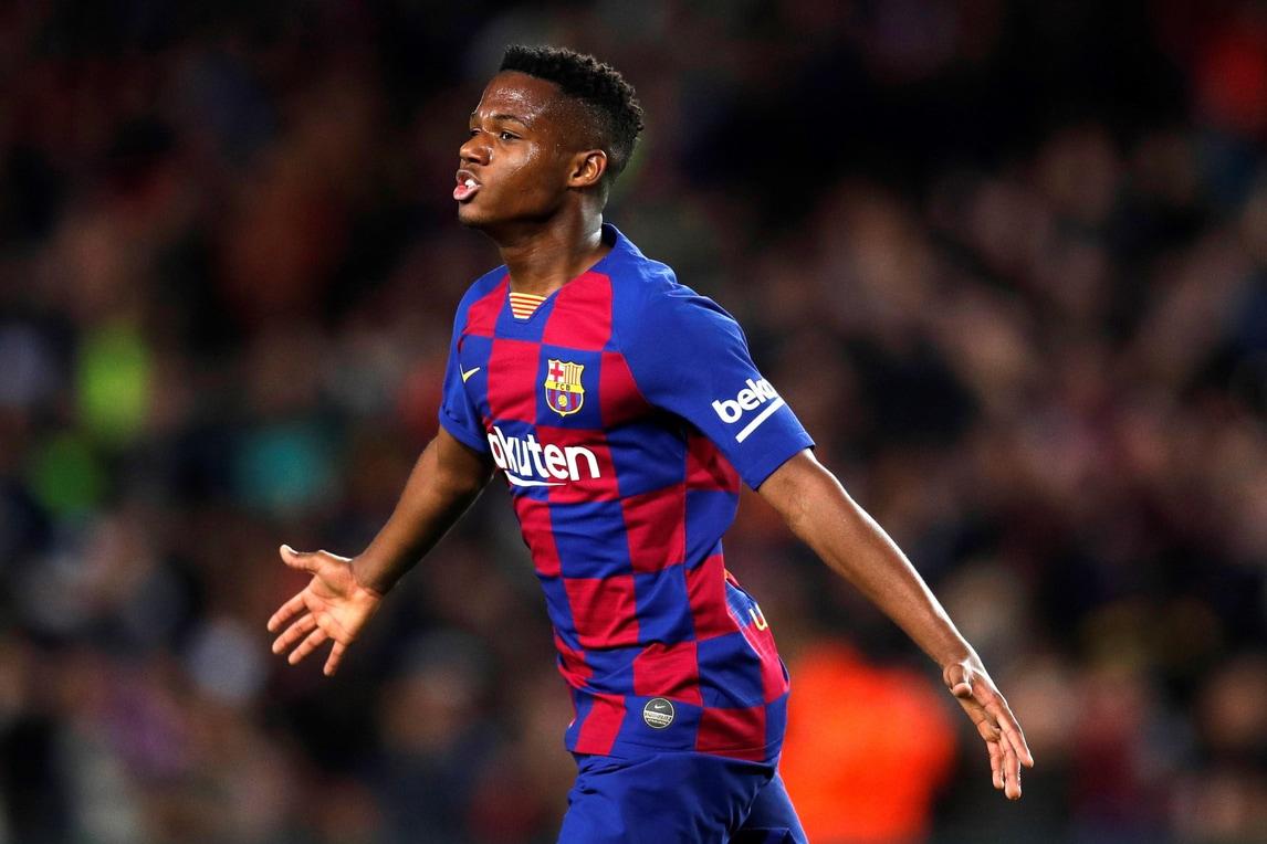 Ansu Fati, prima doppietta con il Barcellona: 2-1 al Levante