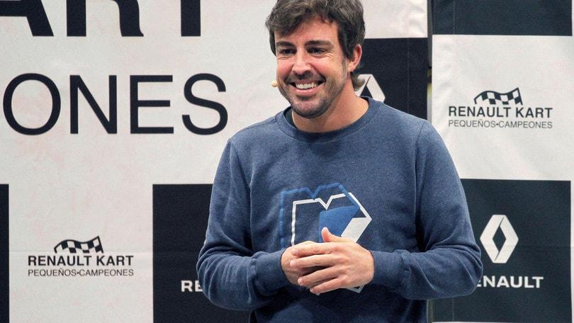 Alonso invita Valentino Rossi alla 24 Ore di Le Mans