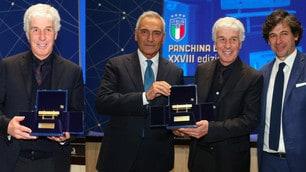 Gasperini vince la Panchina d'Oro, che sorrisi a Coverciano