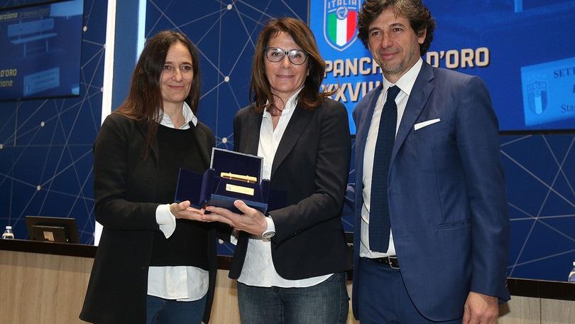Betty Bavagnoli vince la Panchina d'Oro: