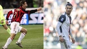 """50 gol, solo Shevchenko """"più veloce"""" di Cristiano Ronaldo"""