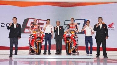 Nuova Honda MotoGP 2020: le foto della Honda RC213V