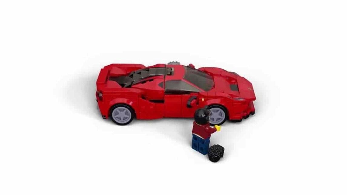 Ferrari F8 Tributo Lego Speed Champions - le immagini