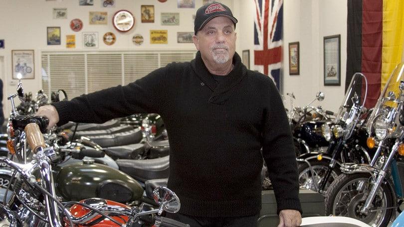 Billy Joel, distrutte 12 moto della sua collezione privata