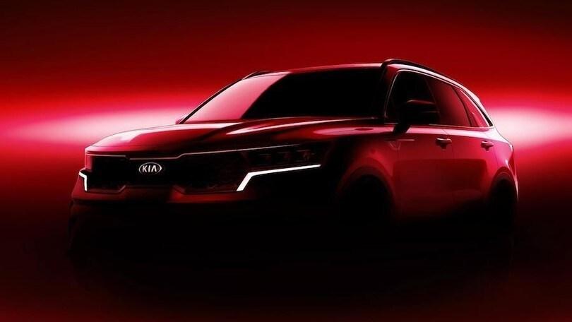 Nuova Kia Sorento, l'Eco Hybrid al Salone di Ginevra