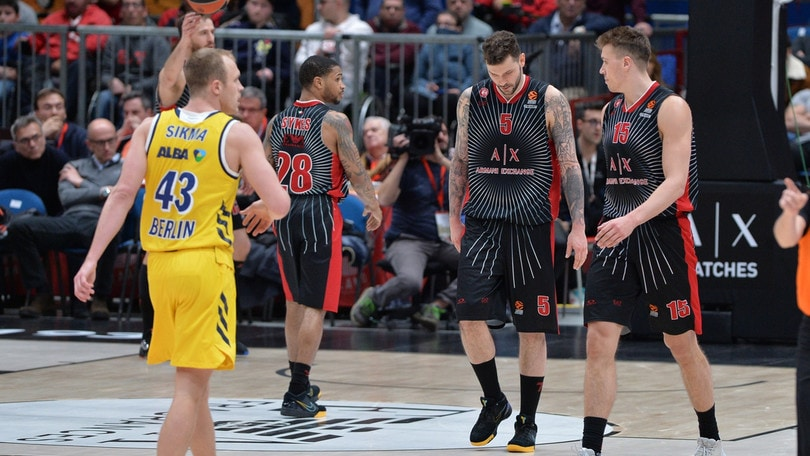 Eurolega, l'Olimpia Milano cade al Forum contro l'Alba Berlino