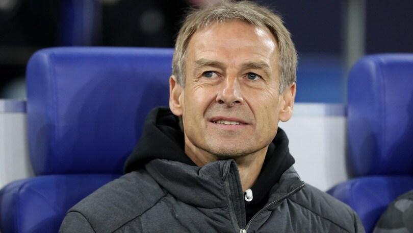 Klinsmann lascia l'Hertha Berlino: