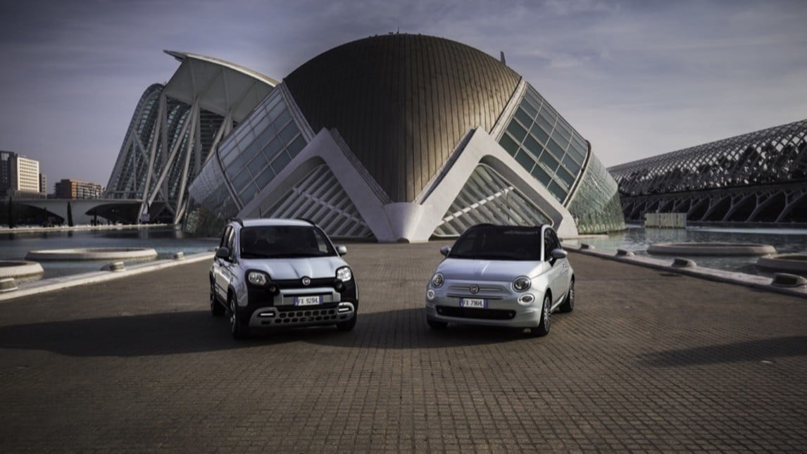 Panda Hybrid e Fiat 500 Hybrid: FOTO