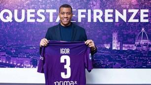 Fiorentina, si presenta il nuovo acquisto Igor