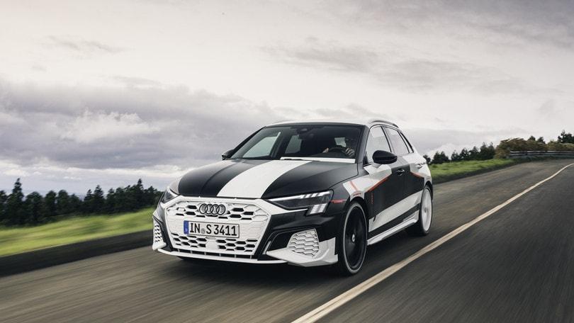 Nuova Audi A3 Sportback, la prova del prototipo