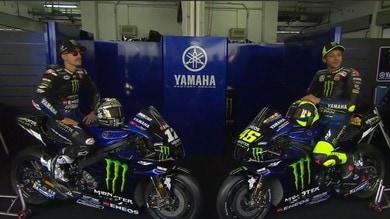 MotoGP: le IMMAGINI della Yamaha 2020 di Valentino Rossi