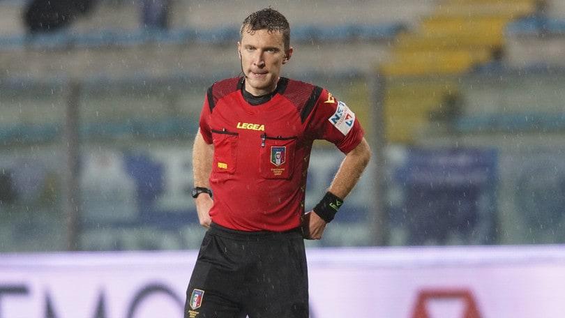 Arbitri, Cosenza-Benevento a Serra. Venezia-Frosinone: Ayroldi