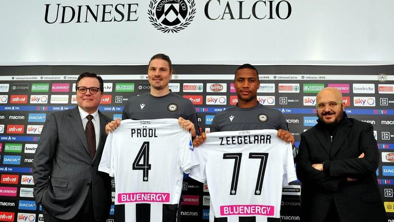 "Udinese, Zeegelaar: ""Felice per la nuova occasione"". Prodl: ""La ..."
