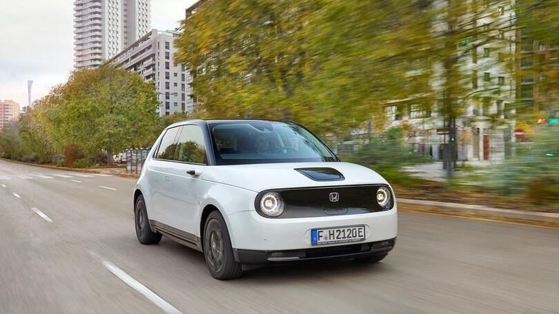 Honda e, la full electric alla prova