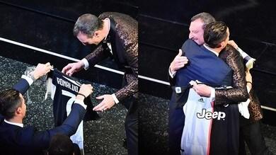 Sanremo, Georgina indica Ronaldo: ha un regalo per Amadeus!