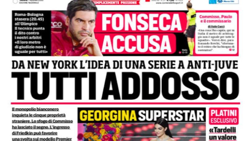 """""""Tutti addosso"""". Stasera Roma-Bologna"""