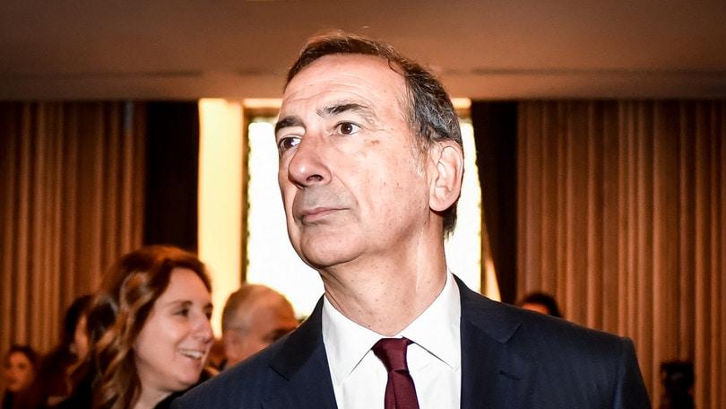 Atalanta, il sindaco di Milano Sala a Zingonia