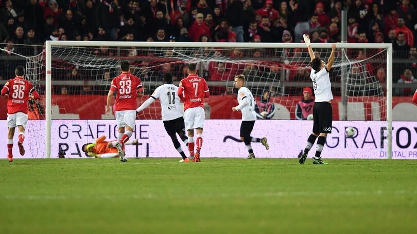 Spezia straripante, il Perugia si inchina: al Curi è 0-3