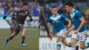 Bisoli sblocca, De Paul pareggia nel finale: 1-1 tra Brescia e Udinese