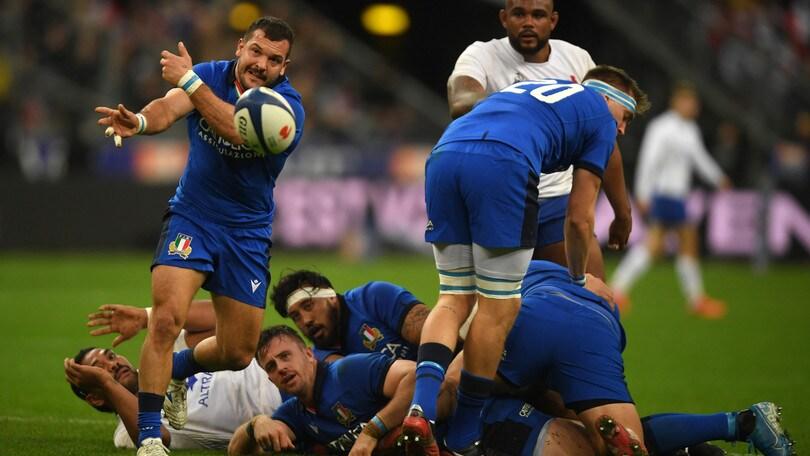Italia, altro ko nel Sei Nazioni: vince la Francia 35-22