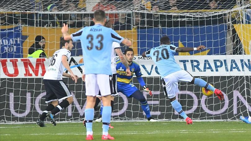 Parma-Lazio 0-1, il tabellino