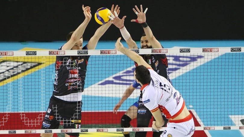 Superlega, vincono Perugia e Lube, Modena batte Milano