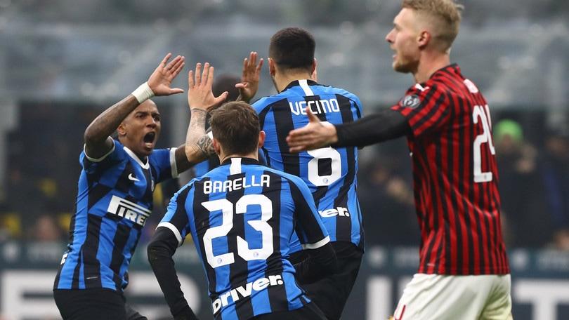 Inter-Milan 4-2, il tabellino